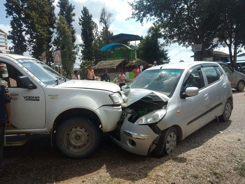 दुर्घटनामा घाइते सीपी मैनालीलाई थप उपचारका लागि काठमाडौं पठाउने तयारी