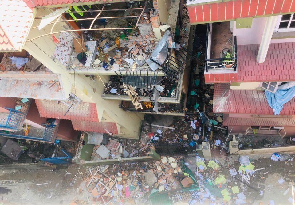 काठमाडौंमा सिलिण्डर बिष्फोट हुँदा म्याग्दीका ६ जनासहित दर्जन बढी घाइते