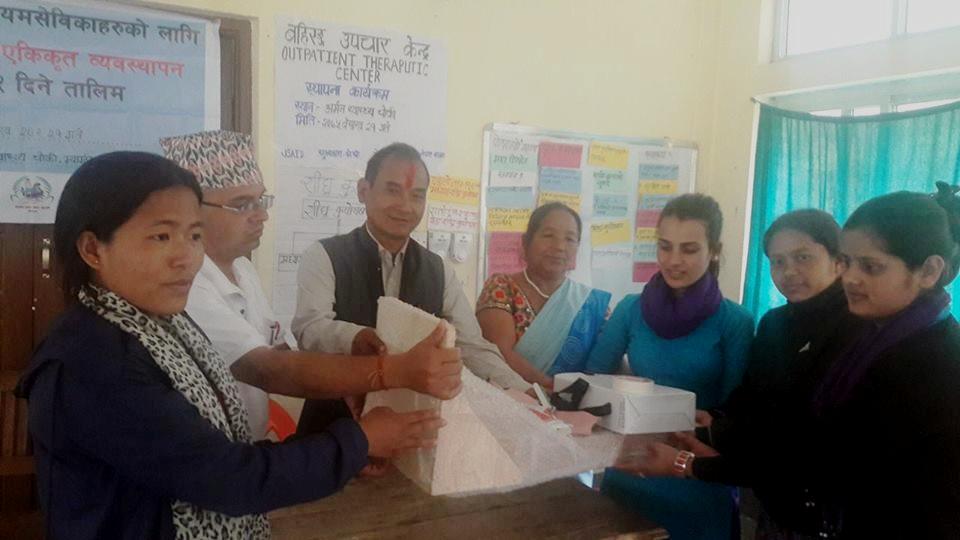 म्याग्दीका स्वास्थ्यचौकीमा बहिरङ्ग उपचार केन्द्र स्थापना