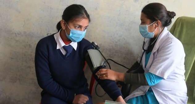 एक विद्यालय, एक स्टाफ नर्स' कार्यक्रम म्याग्दी र बागलुङका विद्यालयमा
